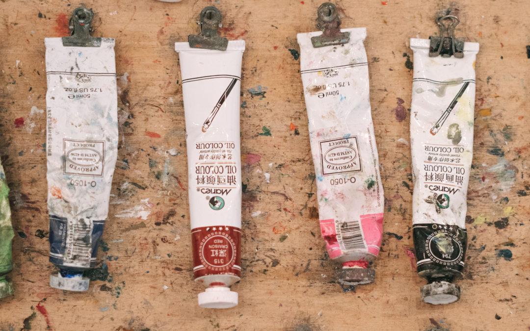 Materiales para pintar al óleo para principiantes